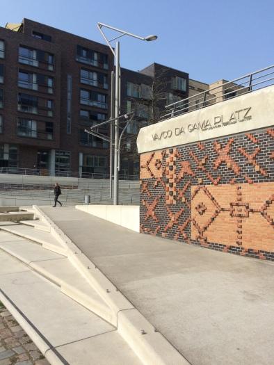 Vasco da Gama building at Hamburg Hafencity