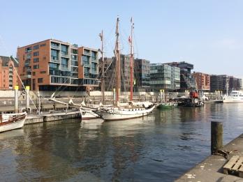 View of Hamburg Hafencity
