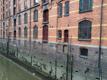 Hamburg's old harbour
