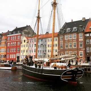 Nyhavn (New Harbour), one of the coolest districts in Copenhagen