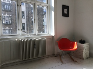 Our awesomely located Airbnb apartment in Christianshavn