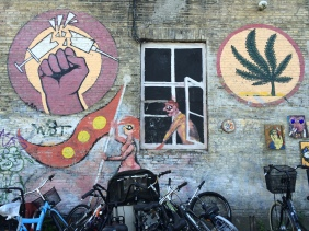 Christiania: weed good, hard drugs bad