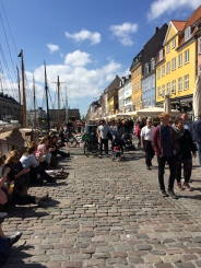 Danes will flock to the streets whenever the sun is out