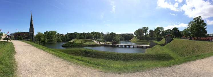 Kastellet, an awesome star fortress