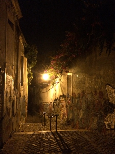 A warm summer night in Graça, one of Lisbon's oldest neighbourhoods