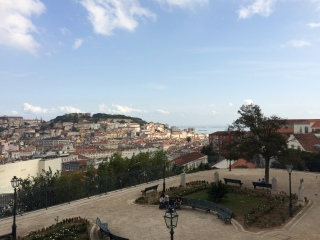 The Torel Garden, on top of one of Lisbon's seven hills. As the legend goes, Lisbon was originally built on top of seven hills. It's not a particularly unique legend: Rome, Jerusalem, Moscow, Istambul and many other cities claim the same
