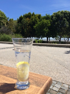 Enjoying a Gin & Tonic at Parque das Nações