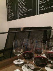Great wine tasting at the 'BocaNariz Wine Bar'