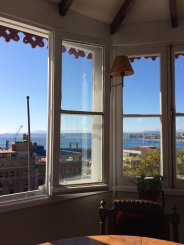 It's hard to find a place in Valparaiso that doesn't have a breathtaking view