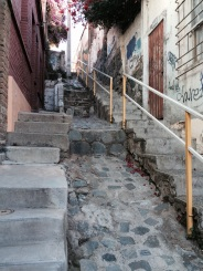 Search for 'Valparaiso Cerro Abajo' on YouTube to see what some crazy mountain bikers do on these streets!