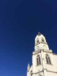 Look at that sky! Oh, and the Saint Paul church was nice too