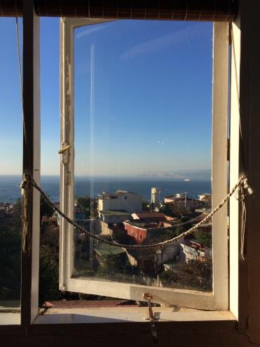 Pablo Neruda's inspiring views over Valparaiso and the Pacific Ocean