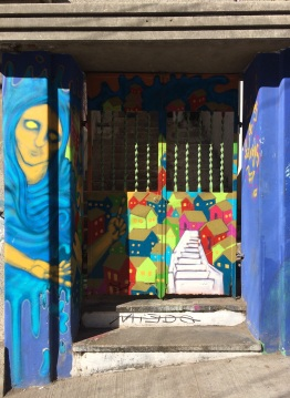 We missed a lot of memorable murals: google 'Valparaiso street art' to check them out
