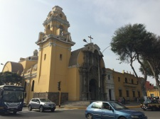 The San Francisco church in Barranco