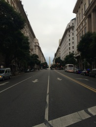 We didn't actually walked up to the 'Obelisco', but it can be seen from many points in the city