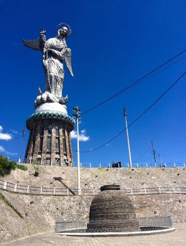 The 'Virgen de Quito' statue generated a lot of controversy, as it was erected on sacred pagan grounds (plus, it's arguably ugly as sin)
