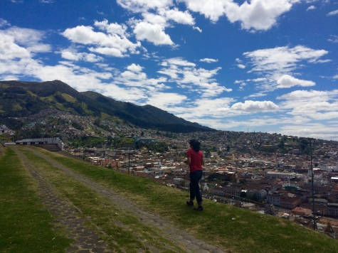 Besides the light, Quito has another thing in common with Lisbon: the hills!