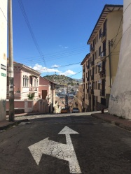 The light in Quito reminded us of sweet home Lisbon!