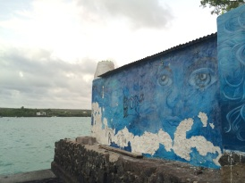 Street art in Puerto Ayora