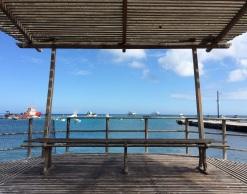 Pier view in San Cristobal