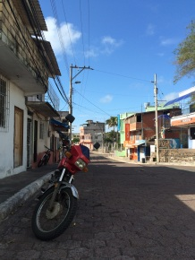 Puerto Baquerizo Moreno, San Cristobal's main town, is pretty much unaffected by tourism