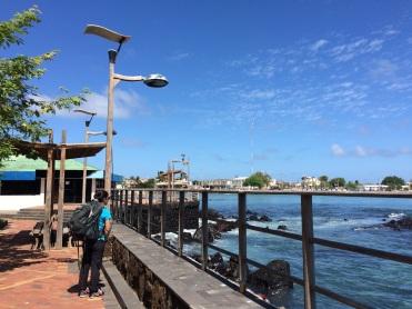Jules says goodbye to Galapagos