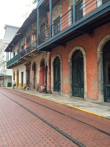 'Casco Viejo' has many French inspired buildings