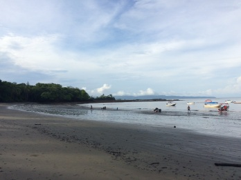 We can't really say that Santa Catalina's beach is ugly... But after you've been to Coiba, there's no comparison!