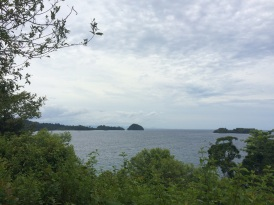 View from the top of Coiba Island