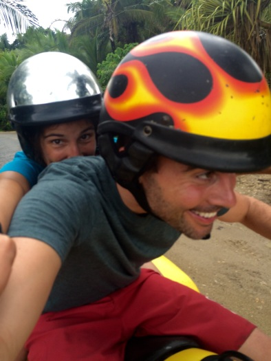Renting an ATV was fun! We totally recommend it