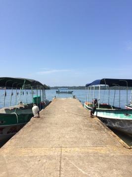 Pier in Bastimentos Island