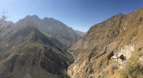 The Colca Canyon in all its glory