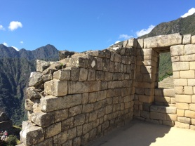 Incans didn't use mortar, instead relying on precisely cut slabs of rock that withstood multiple centuries and earthquakes
