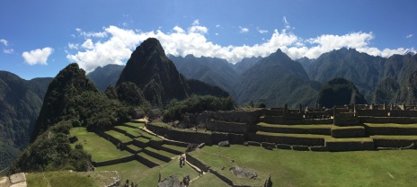 The Central Plaza sits at the heart of Machu Picchu