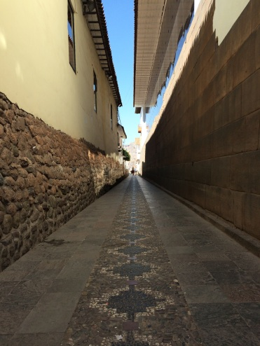 Cusco's historical centre is impeccably preserved
