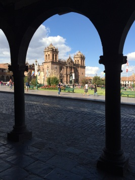 Cusco's 'Plaza de Armas' is breathtaking
