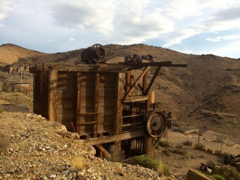 Lost Horse Mine, in the Joshua Tree Park: Verne's reward for making it all the way to the end of the trail