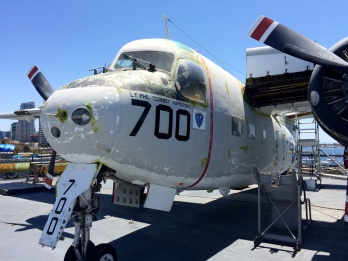 This was the crew's favorite plane, as it brought food and letters from home