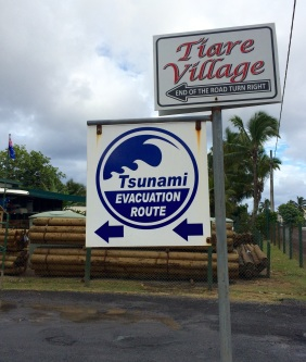 Despite the signaled evacuation routes, several experts argue that Rarotonga is not adequately protected against a tsunami