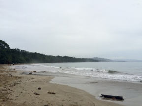 The beach at Punta Uva, some 10km from Puerto Viejo