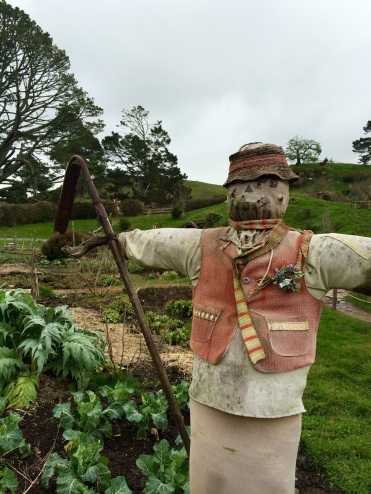 Strawman protecting the Hobbit crops