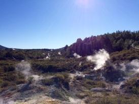 Wai-o-Tapu is a geothermal park located close to Rotorua