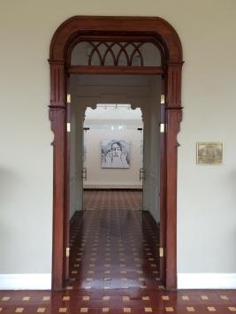 Entrance of the Dr. Rafael Calderon Guardia museum