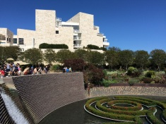 The Getty Center was designed by Richard Meier