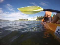 ... And do some kayaking