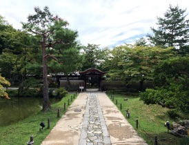 Pathway to the entrance of the Kodaiji temple