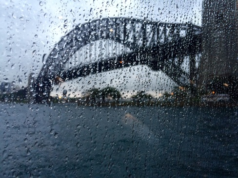 The weather was much warmer than in New Zealand, but still we had to cope with a lot of rain!