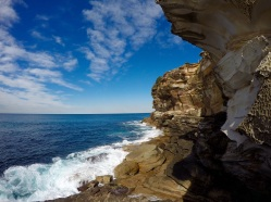 Bondi is the aboriginal word for 'water breaking over rocks'