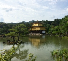 The astonishing Golden Pavillion