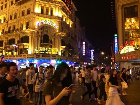 Chinese are a rowdy but happy bunch